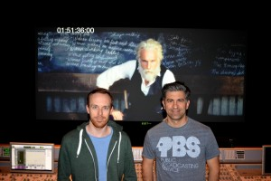 Eadweard Mix with director Kyle Readout